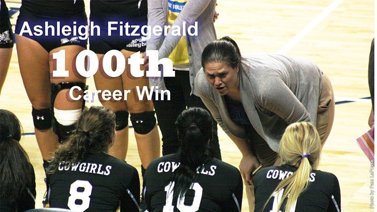 Ashleigh Fitzgerald's 100th Career Win