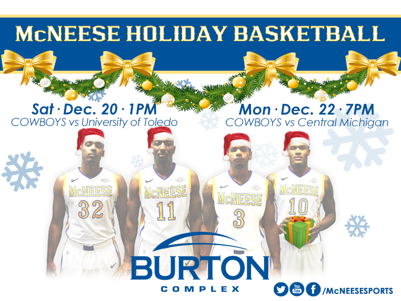 MCNEESE HOLIDAY BBALL
