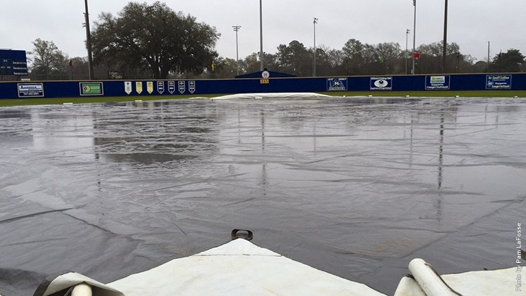 SB field with tarp