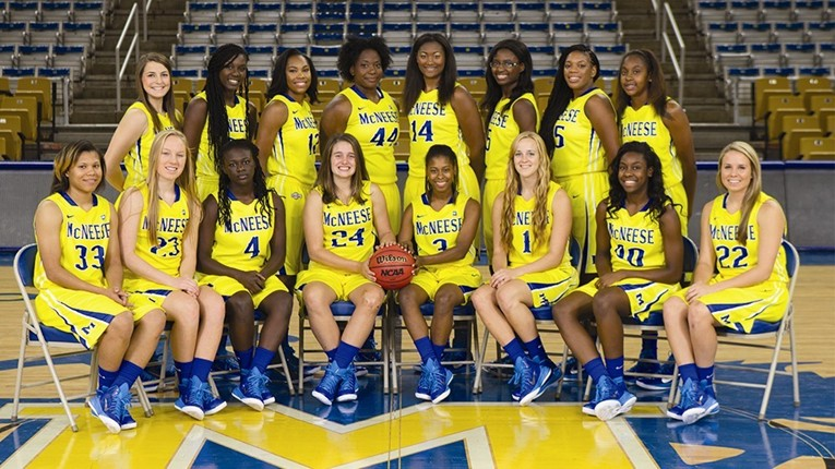 2014-15 WBB Team Photo