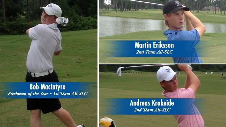 2015 Men Golf All-SLC